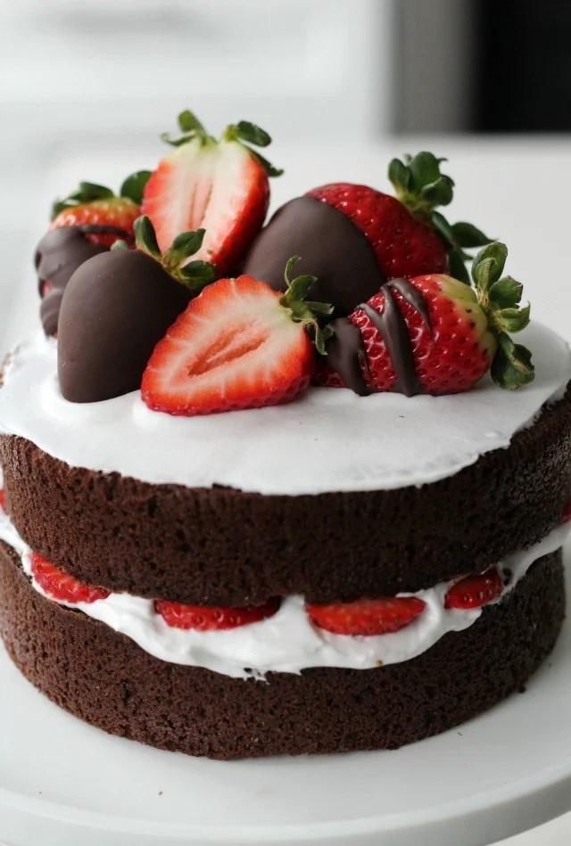 strawberry naked cake 00 bakeaholic