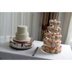 Small Crop Of Cupcake Wedding Cake