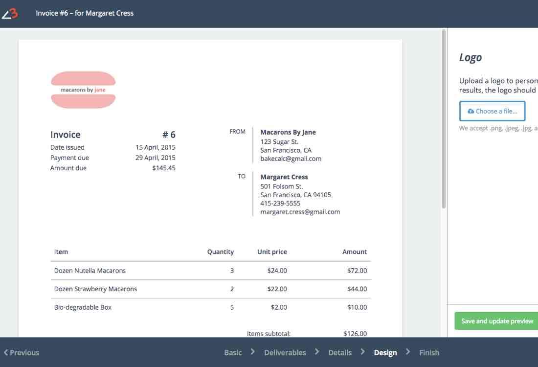invoice creator online
