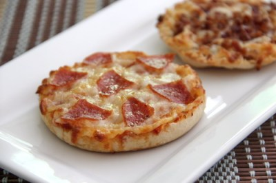 English Muffin Pizzas | Baked by Rachel