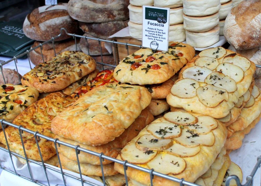 Focaccia from Borough Market, London | Bakerita.com
