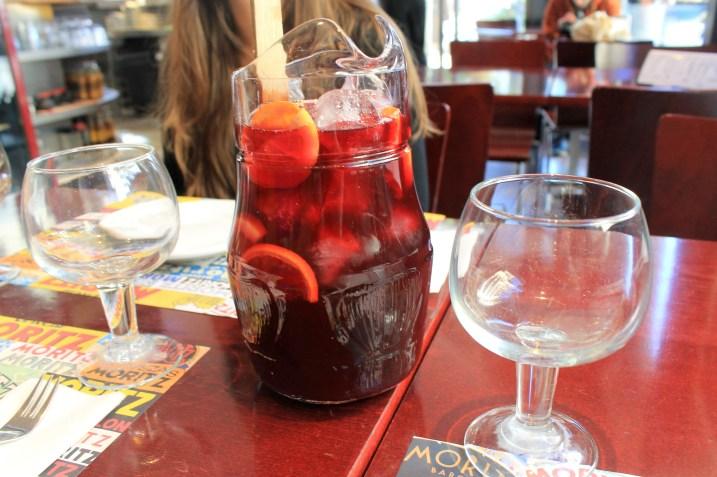 Sangria in Barcelona | Bakerita.com