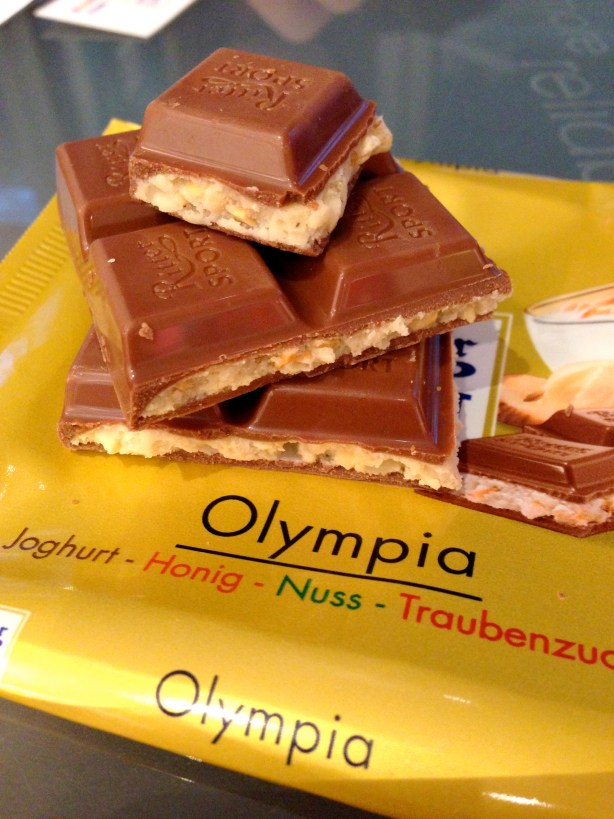 Olympia Chocolate at Ritter Sport Chocolate Store in Berlin, Germany | Bakerita.com