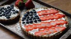 Berry Tart with Brown Butter Shortbread Crust