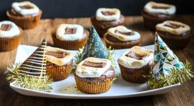 S'mores Brownie Cups + Bakerita's 4 Year Birthday