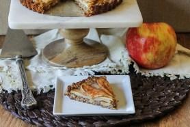 Spiced Apple Tart (GF + Vegan)