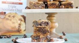Chocolate Chunk Espresso Blondies