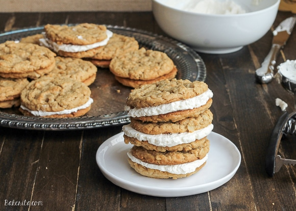 Peanut-Butter-Oatmeal-Cookie-Sandwiches-with-Marshmallow-Buttercream ...