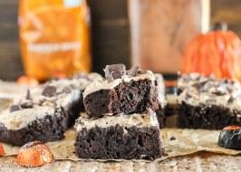 Pumpkin Spice Latte Brownies
