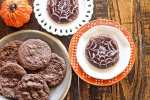 Ultimate Chocolate Spiderweb Cookies