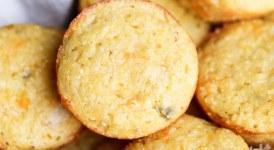 Green Chile Corn Muffins