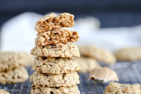 Peanut Butter Oatmeal Cookies (Gluten Free)