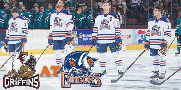 BakersfieldCondors GAME PREVIEW Condors host Grand Rapids