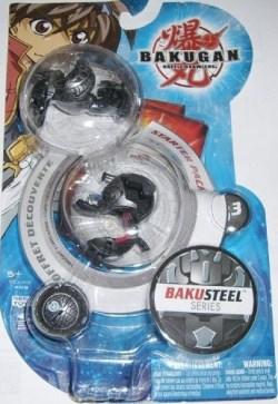 B3BakuSteel StarterPack Bakugan Starter Packs