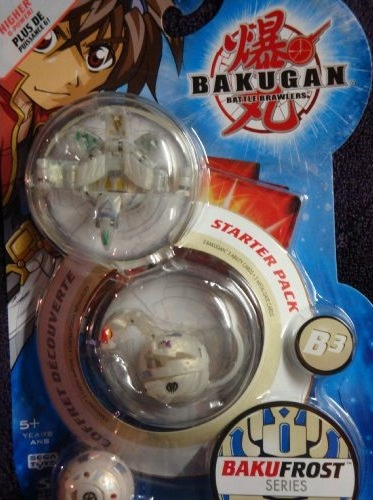 BakuFrost StarterPack Bakugan BakuFrost Packs