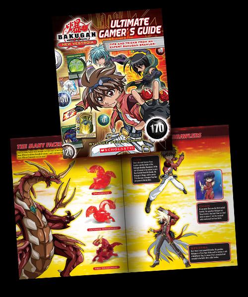 bakugan gamersguide Bakugan: Ultimate Gamer's Guide by Scholastic