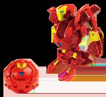 IronManClassic Bakugan VS. Iron Man