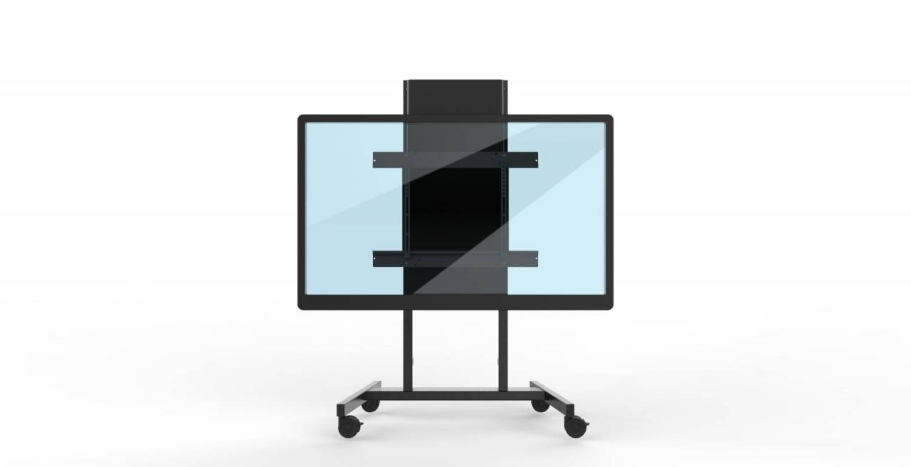 Height Adjustable Wall Mount For Interactive Displays 75