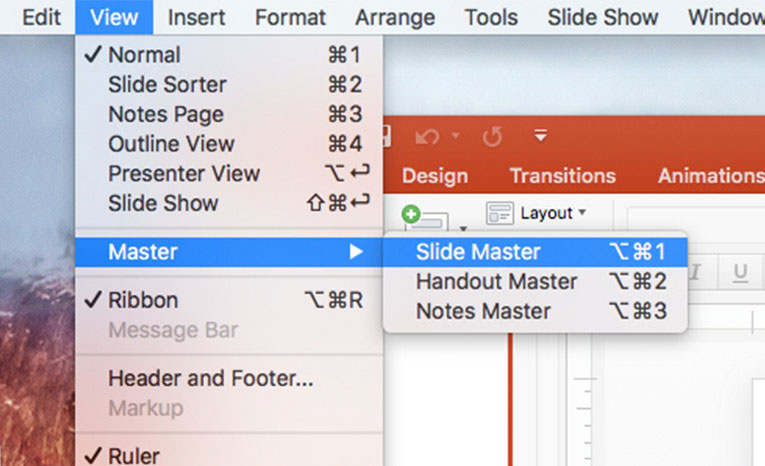 How-To Create a Slide Master or Template in PowerPoint