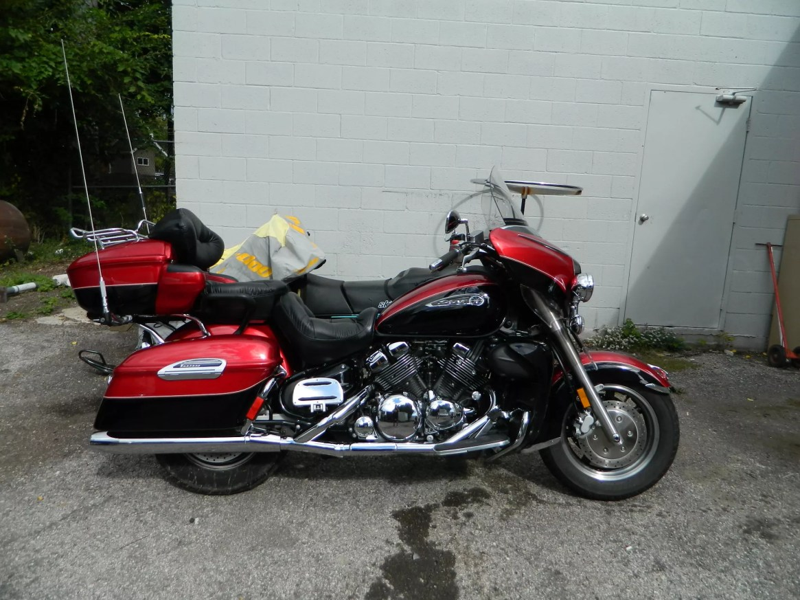 USED 2009 YAMAHA VENTURE ROYAL TOURING STREET MOTORCYCLE FOR SALE