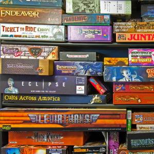 Archivio dei giochi da tavolo trattati