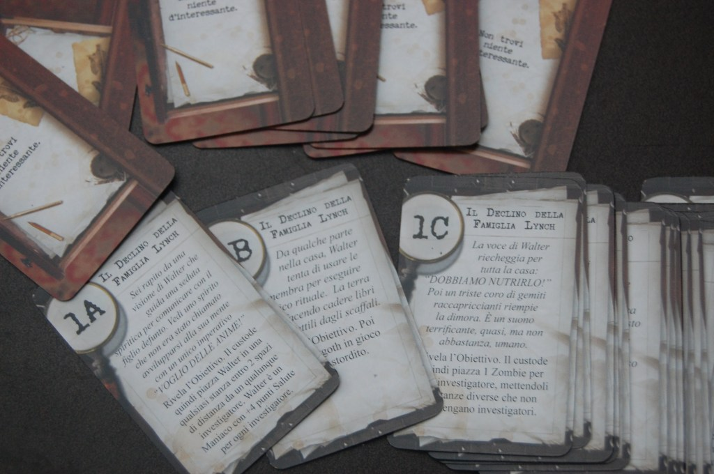 carte indizio