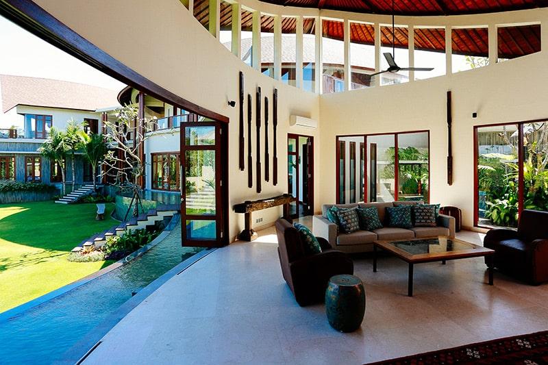 Villa de luxe design à Bali #Architecture #design #Bali Maison