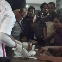 Sopir Bus Jawa Bali Jalani Test Urine