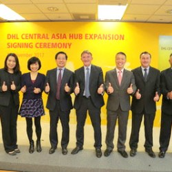 DHL Ekspansi €335 Juta dari Pusat Strategis Asia Tengah di Hong Kong