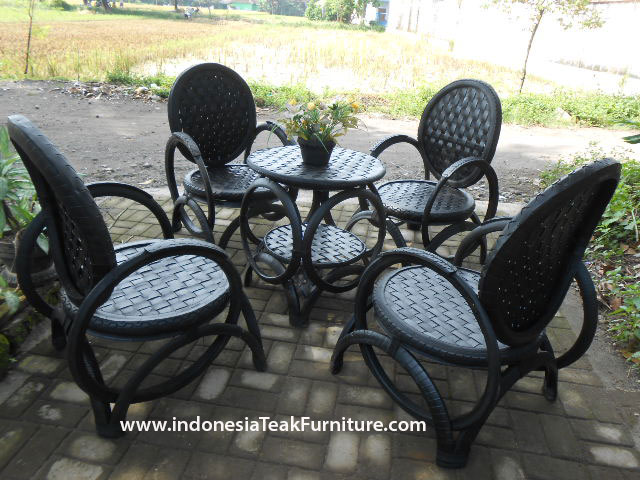 Recycled Rubber Tire Chair Furniture From Indonesia Re