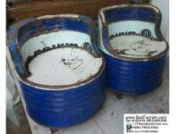 Recycled Oil Barrel Furniture Bali Indonesia