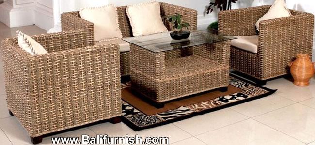 Water Hyacinth Furniture Factory In Bali