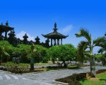 building, bajra sandhi, denpasar, city, bali, places, places of interest, bali places of interest