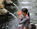 pray, hindu, tampak siring, bali, holy, water, temple, tampak siring temple, holy spring temple