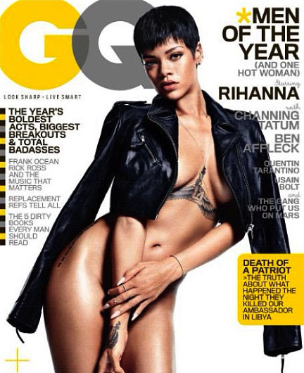 Rihanna - December 2012 GQ - Men Of The Year Issue