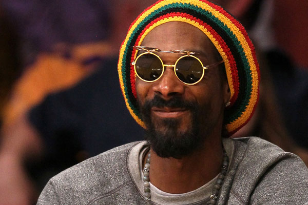 Snoop Dogg, aka Snoop Lion