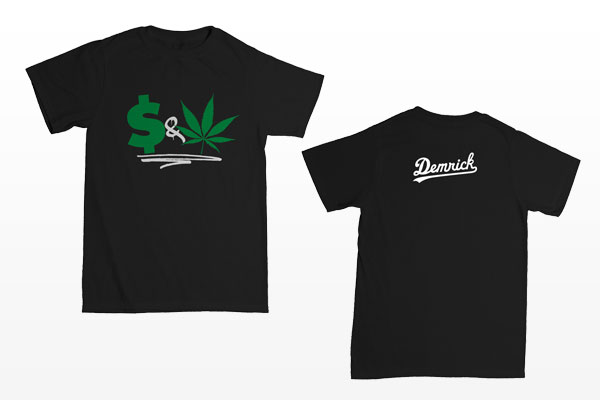 Demrick - Money & Weed tee