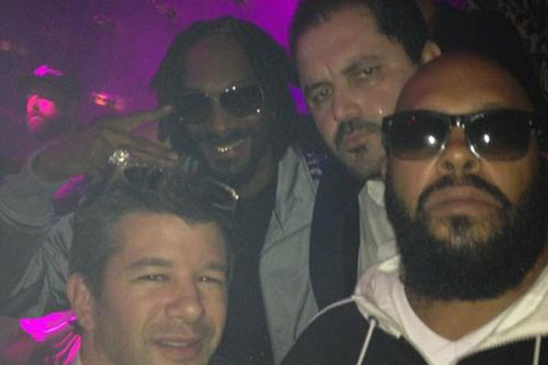 Snoop Dogg and Suge Knight in the club together - February 2013