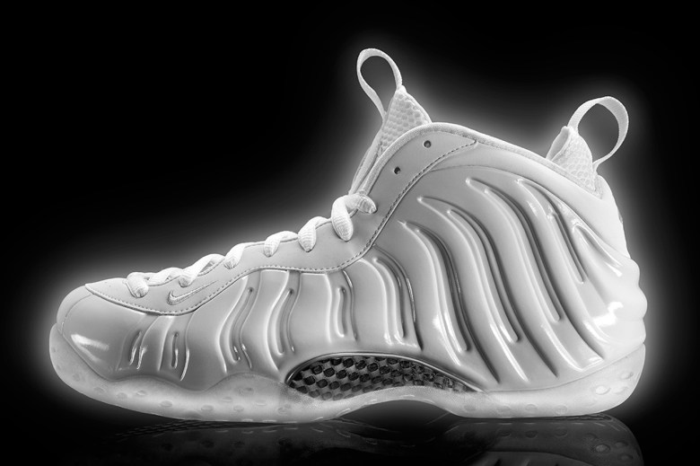 2013 Nike Air Foamposite One All-White