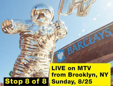 2013 MTV VMAs at Barclays Center