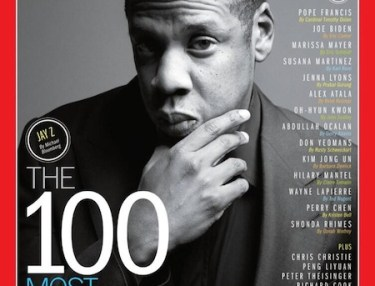 Jay-Z lands 2013 'The 100 Most Influential People In the World' TIME cover.