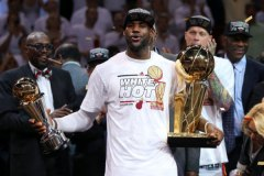 Lebron James leads Miami Heat to 2013 Finals Title