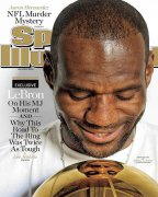 Lebron James covers Sports Illustrated July 1st Issue