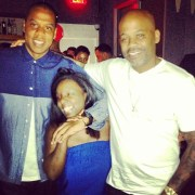 Jay-Z and Damon Dash reunite in Brooklyn