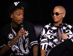 Wiz Khalifa, Amber Rose Talks Marriage, Easy Relationship