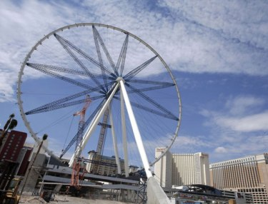 The High Roller Ferris Wheel in Las Vegas