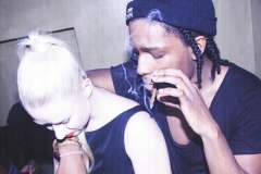 A$AP Rocky and Iggy Azalea