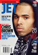 Chris Brown Jet Magazine October isse