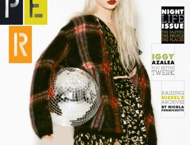 Iggy on Oct issue of Paper