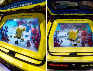 Toyota 2014 SpongeBob Highlander: Tanked Edition